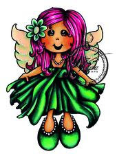 Vilda Stamps - Fairy Tracy