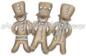 Vilda Stamps - Gingerbread Men