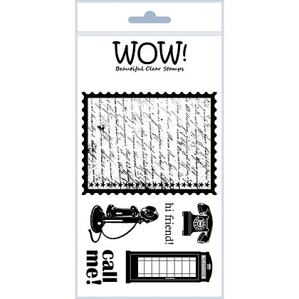 WOW! Stamp Set - Call Me