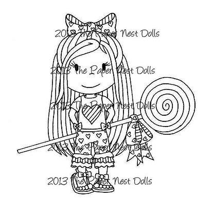 Paper Nest Dolls - Lollipop Ellie