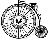 Vilda Stamps - Vintage Bicycle