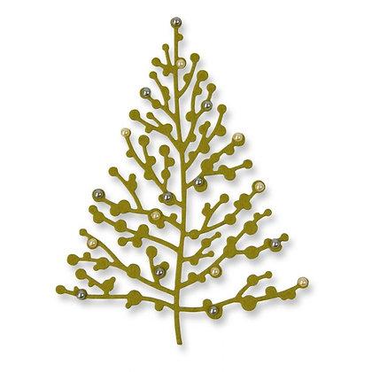Sizzix Thinlits Die - Treetops Glisten