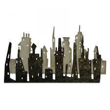 Sizzix Thinlits Tim Holtz Die Set - Cityscape Skyline