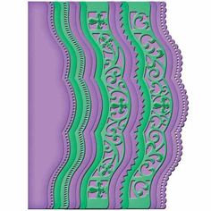 Spellbinders Dies - Scalloped Borders Two