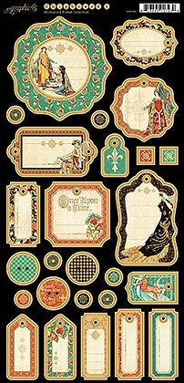 Graphic 45 Chipboard - Enchanted Forest 1