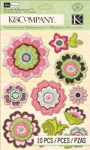 K & Co. KP Blossom - Floral Grand Adhesions