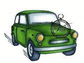 Vilda Stamps - Car