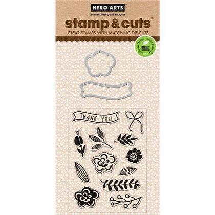 Hero Arts Stamp and Cut - Flowers