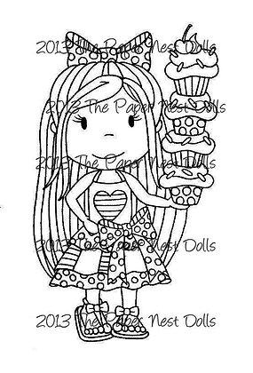 Paper Nest Dolls - Cupcake Ellie