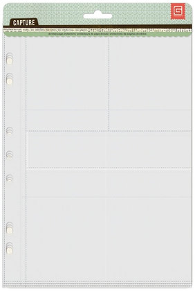 Basic Grey Divided Page Protectors