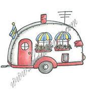 Vilda Stamps - Caravan