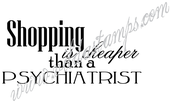 Vilda - Shopping Is Cheaper Than A Psychiatrist
