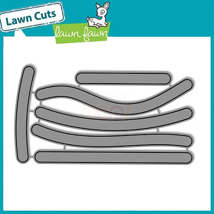 Lawn Fawn Die Set - Slide On Over