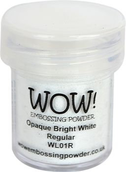 WOW! Embossing Powder - Opaque Bright White