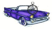 Vilda Stamps - American Chevrolet