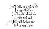 Vilda Stamp - Don't Walk In Front Of Me