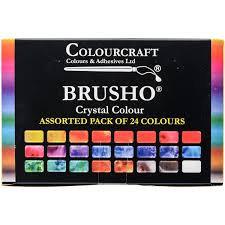 Brusho Crystal Colour - Set of 24
