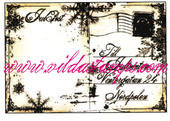 Vilda - Christmas Postcard