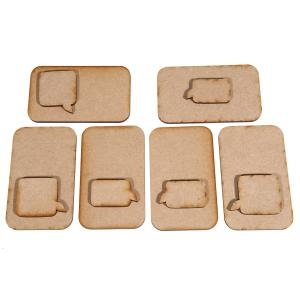 Creative Expressions MDF - Mobile Phone Set