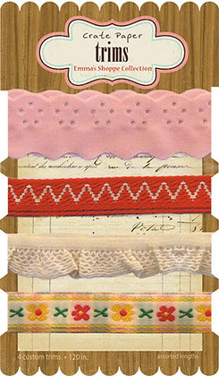 Crate Paper Emma's Shoppe - Ribbon