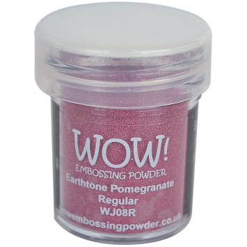 WOW! Embossing Powder - Earthtone Pomegrante