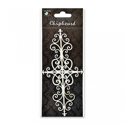 Little Birdie Chipboard  - Ornate Flourish
