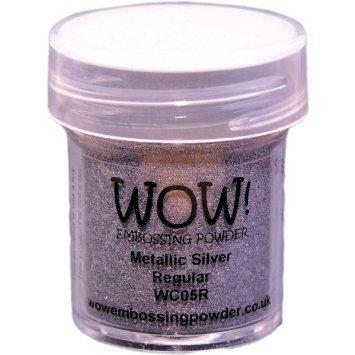 WOW! Embossing Powder - Metallic Silver