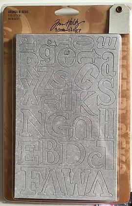Tim Holtz Idea-ology Grunge Blocks