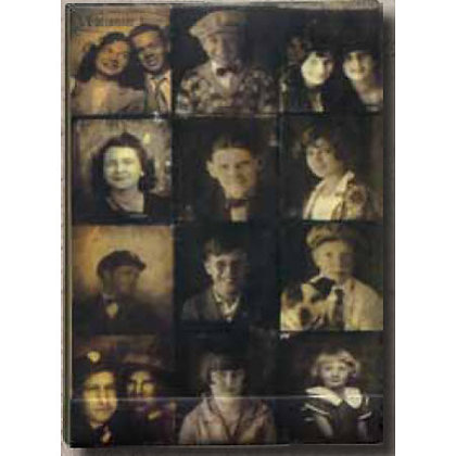 Tim Holtz Matchbook Note Pad - Photobooth