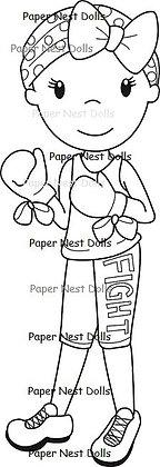 Paper Nest Dolls - Fight Like A Girl
