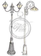 Vilda - Two Lamp Posts