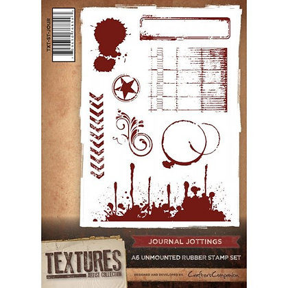 Crafters Companion Stamp Set - Journal Jotters