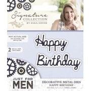 Just For Men Die Set - Happy Birthday