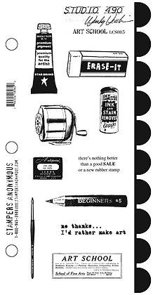 Studio 490 Stamps - Art School Studio