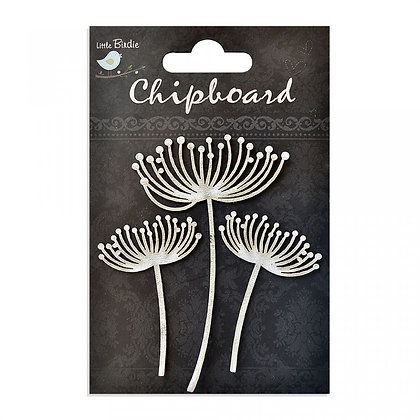 Little Birdie Chipboard  - Flower Buds