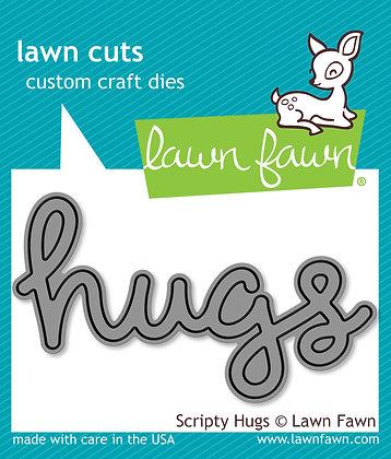 Lawn Fawn Die - Hugs