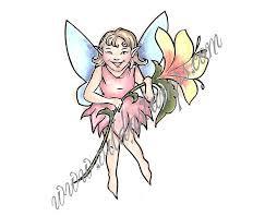 Vilda - Little Fairy With Flower