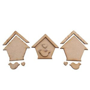 Creative Expressions MDF - In The Garden Bird House