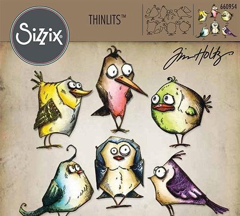 Sizzix Framelits Die Set by Tim Holtz - Bird Crazy