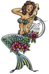 Vilda Stamps - Sirena