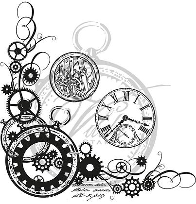 Vilda - Cogwheel Corner With Clocks