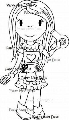 Paper Nest Dolls - Hair Stylist