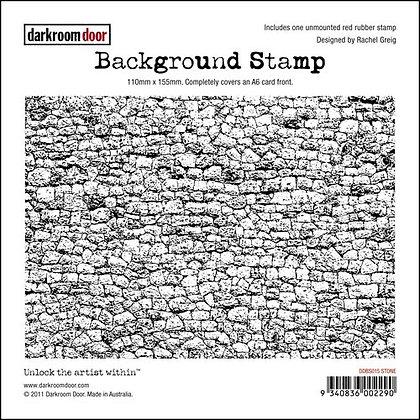 Darkroom Door Background Stamp - Stone
