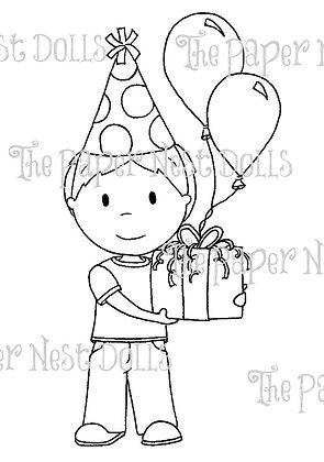 Paper Nest Dolls - Birthday Owen