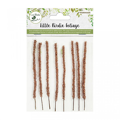 Little Birdie - Feather Grass Brown