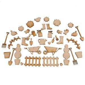 Creative Expressions MDF - In the Garden Accessory Pack