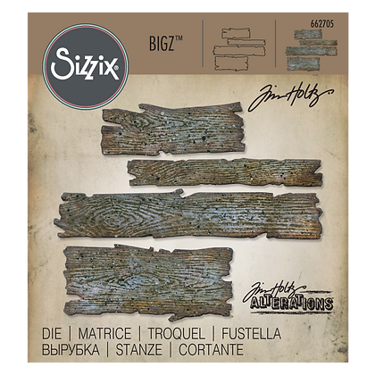 Sizzix Big Tim Holtz Die - Planks