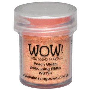 WOW! Embossing Glitter - Peach Gleam
