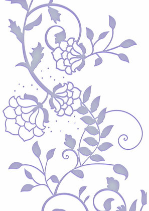 Couture Creations Embossing Folder - Poetry