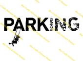 Inspired By Banksy Stamp - Parking
